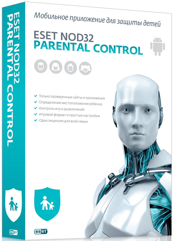ESET NOD32 Parental Control (Лицензия на 2 года)