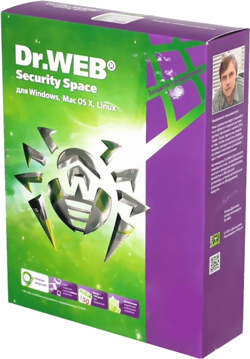 Dr.Web Security Space (5 ПК, 6 месяцев)