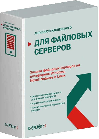 Kaspersky Security для файловых серверов Russian Edition. 20-24 User 1 year Base License