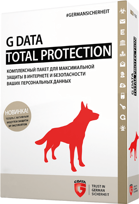 G Data Total Protection (3 ПК, 1 год)