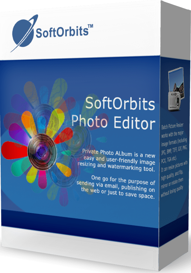 SoftOrbits Simple Photo Editor (Фоторедактор для ПК)